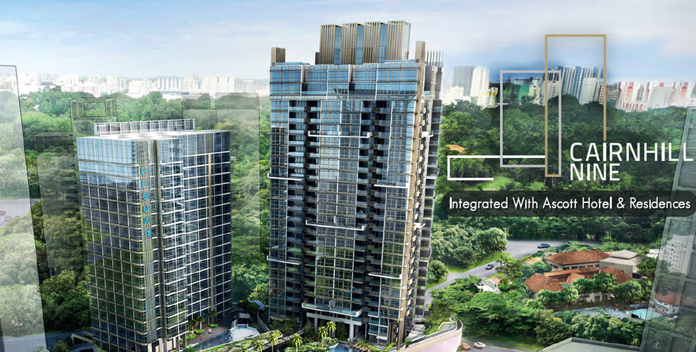 Cairnhill 9 Capitaland Condo Paragon Shopping Centre