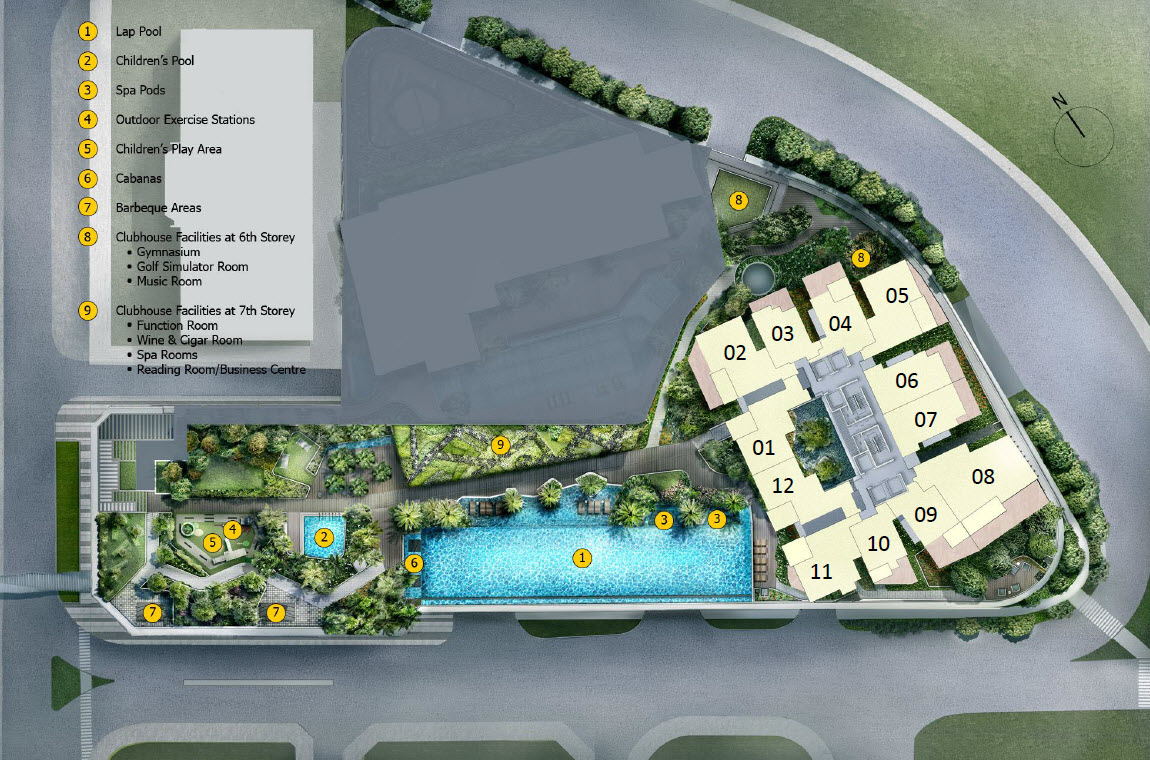 Cairnhill 9 Orchard Site Plan